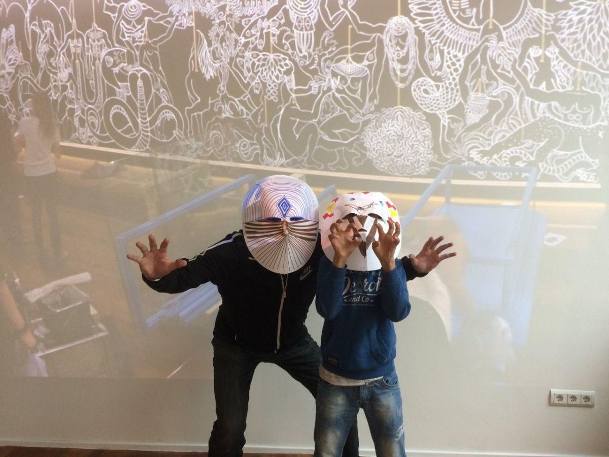Stephan en Mahdi