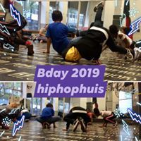 Geslaagde B-day in HipHopHuis